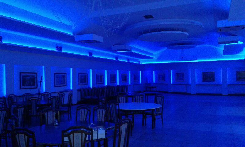 Hotel Mali Raj - Postavljanje LED Rasvjete